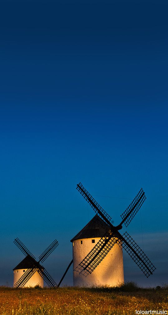 Windmills, Campo Criptana, Ciudad Real, Spain