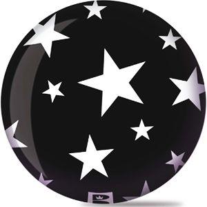 Viz-A-Ball Stars White/Black - Matches my bowling shoes!