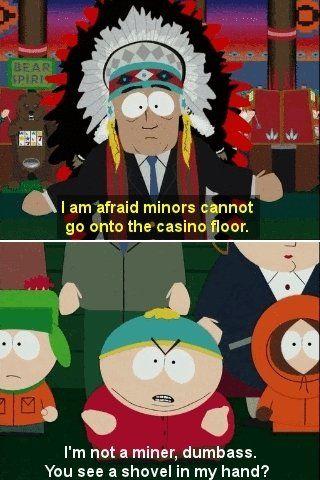 Las Vegas humor.   Ha ha ha