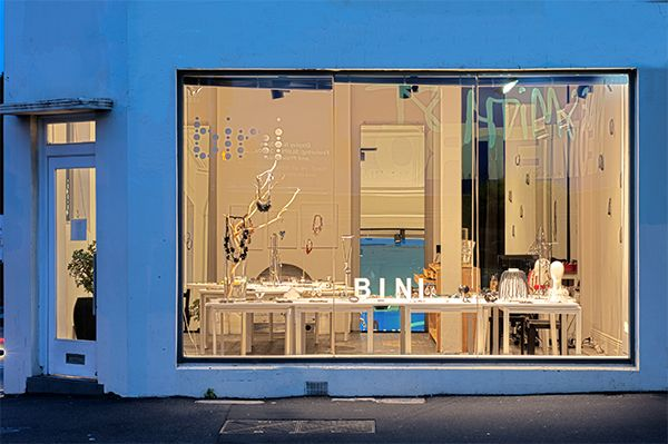 Bini Gallery window
