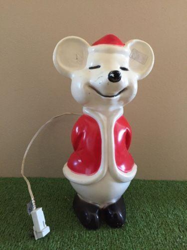 119 best christmas molds images on pinterest retro - Vintage Plastic Christmas Decorations