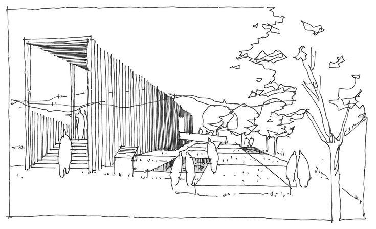 Villa B,Sketch