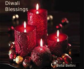A #Blessed Diwali to all Bella's and Beau's #Celebrating this #Joyously_Vibrant Occasion. Wishing you much #Love #Light #Peace #Joy & #Happiness today and always. ♥ Bella ♥