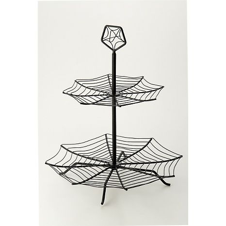 Spider Web Cupcake Stand