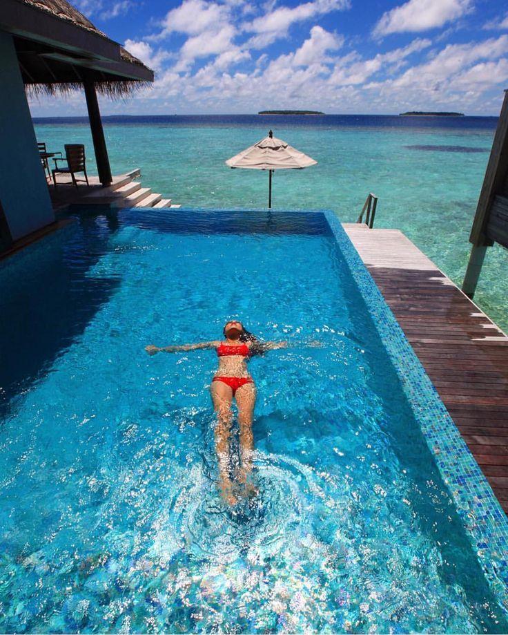 Anantara Kihavah Villas - Maldives  Credits @kobechanel by beaches_n_resorts