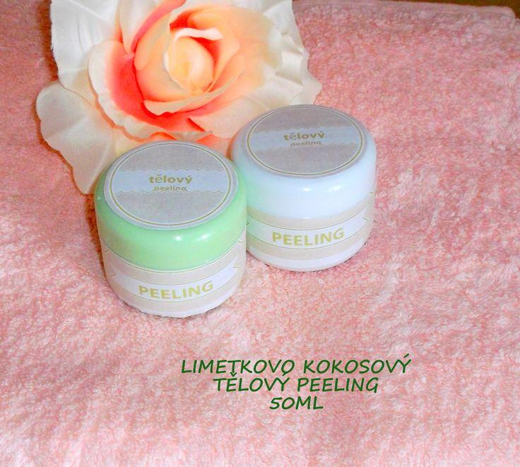 Limetkovo kokosový tělový peeling Lime - coconout scrub