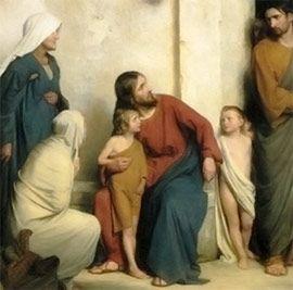 Jesús ama a los pequeños