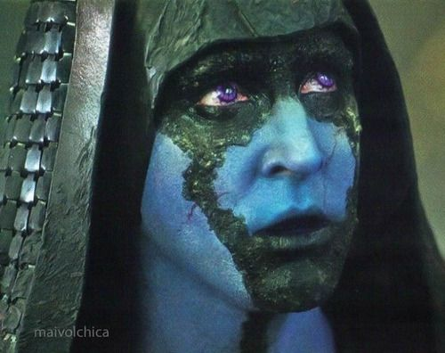 Lee Pace as Ronan the Accuser in Marvel's Guardians of the Galaxy, 2014.
