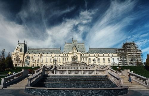 Discover the landmark of Iasi: Palace of culture, a masterpiece partly built on the old ruins of the mediaeval Royal Court of Moldavia