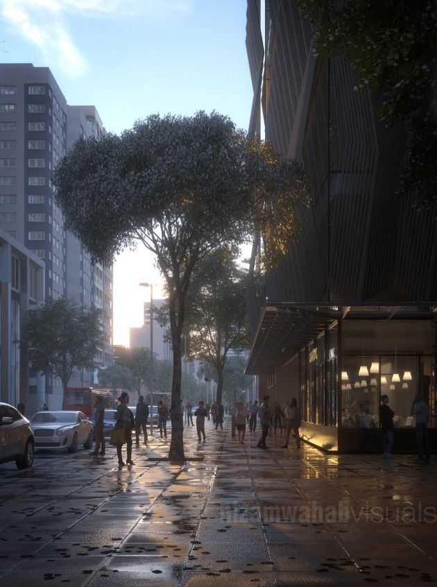 CGarchitect - Professional 3D Architectural Visualization User Community | KL Street Cafe