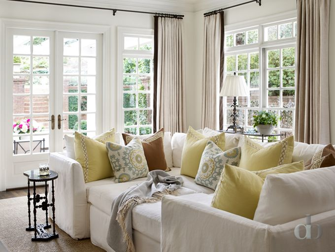 Cozy Sectional Jessica Bradley Interiors Cute And