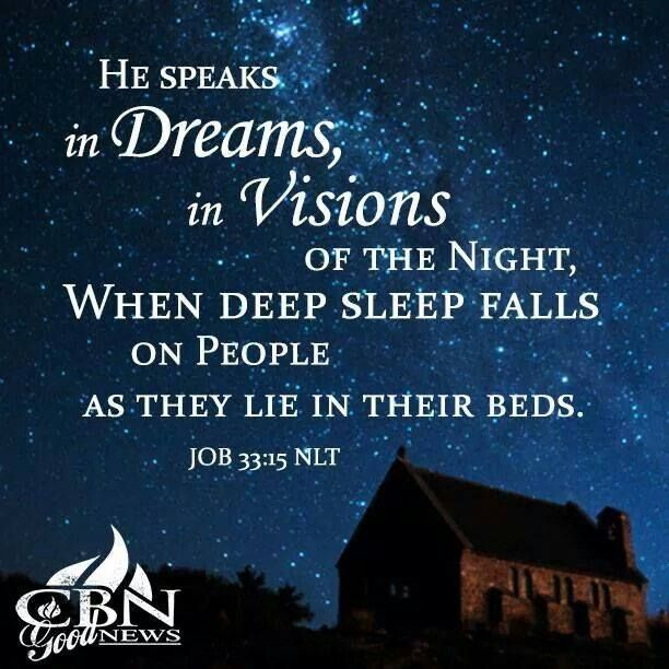 Dreams and Visions - The Vine Bible Study