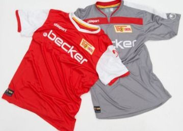 1. FC Union Berlin 2013/14 uhlsport Home and Away Kits