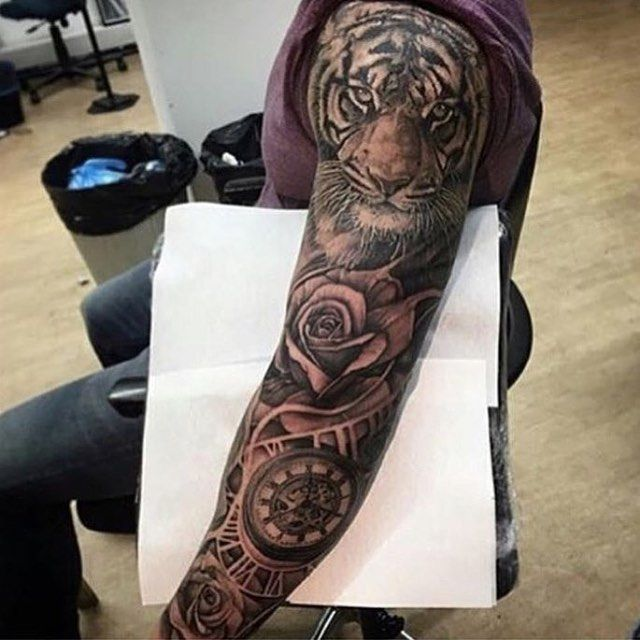 3239 Best Tattoo Inspiration Images On Pinterest: Such A Dope Sleeve! By @andyblancotattoo