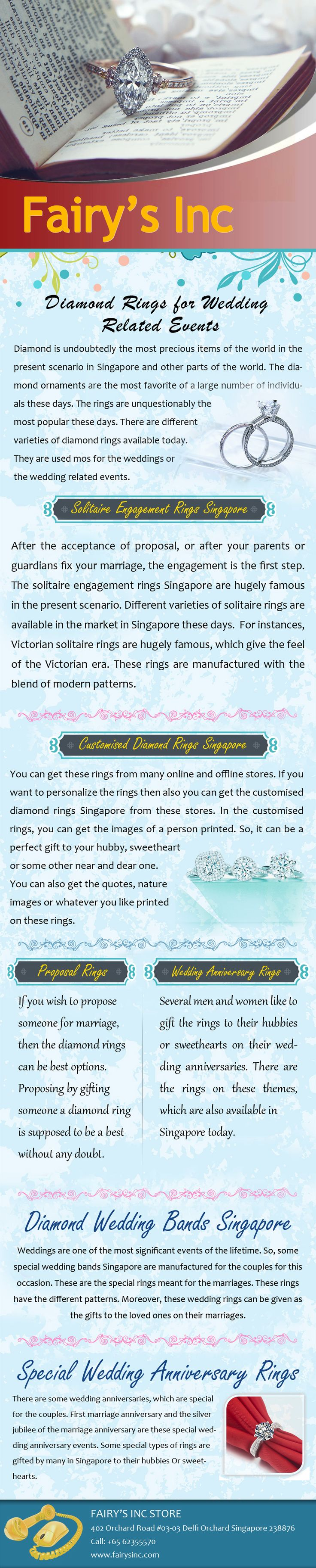 Diamond is the material, which is unquestionably perfect to give to your hubby or sweetheart in the engagements. There is a   wide variety of diamond engagement rings Singapore available today. You can get these rings in different colors