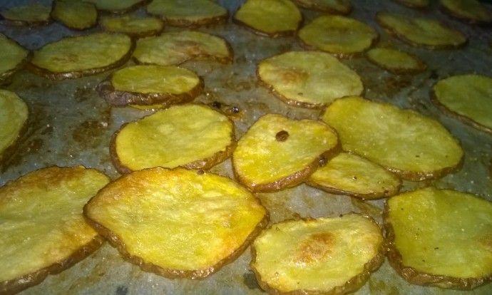 Octové brambůrky bez fritování