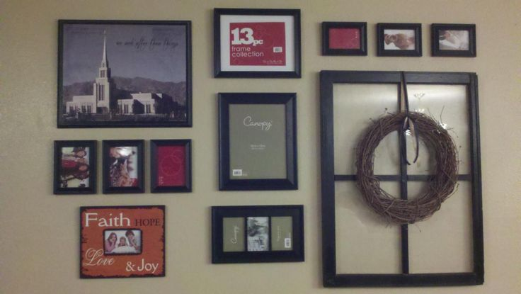 17 best ideas about arranging pictures on pinterest wall picture arrangements wall frame. Black Bedroom Furniture Sets. Home Design Ideas
