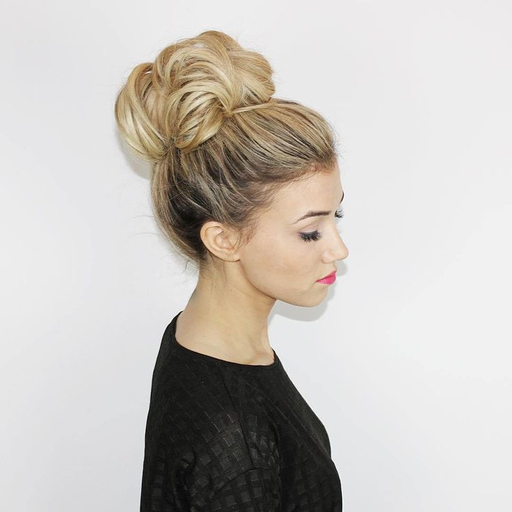 best hair bun styles 17 best ideas about bun on hair 9023
