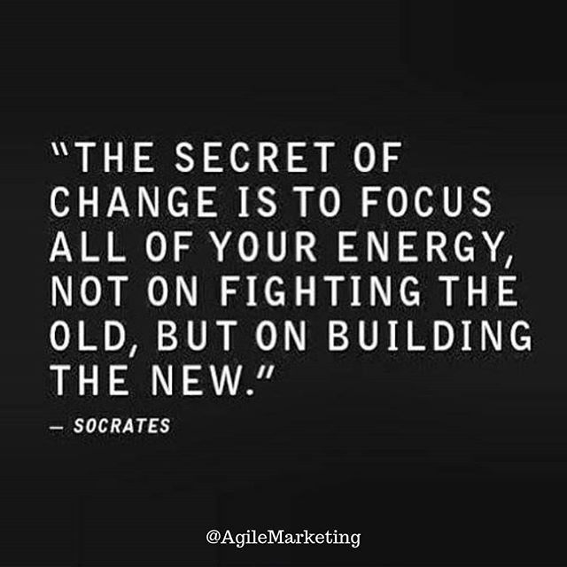 Focus on building the new not repairing the past. Happy New Year! #agile  #ag… | Inspirational quotes motivation, Personal change quotes, Inspiring  quotes about life