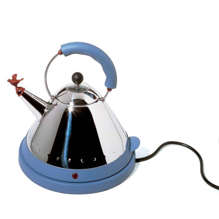 Alessi - MG32 AZ, elektrischer Wasserkessel Blau T:25 H:27 B:25 Jetzt bestellen unter: http://www.woonio.de/produkt/alessi-mg32-az-elektrischer-wasserkessel-blau-t25-h27-b25/