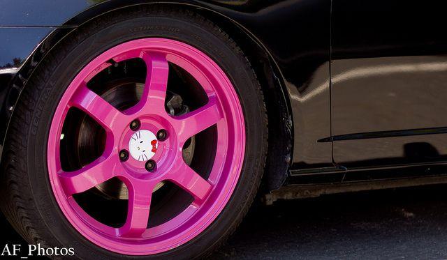 Hello Kitty Car Rims