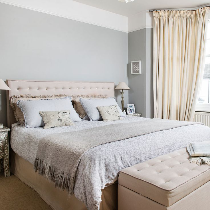 Our Mimosa headboard paired beautifully with neutral & calming tones - Ideal Home