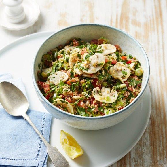 Marinated+Mushroom+Tabbouleh+Salad