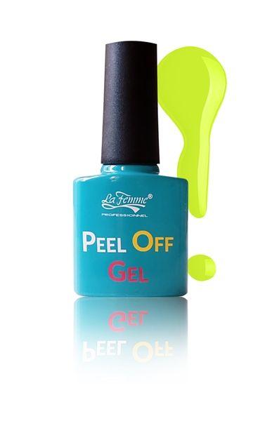 """#PeelOffGel numero 05  Un colore decisamente estivo per non passare inosservate!  Una manicure sempre alla moda con in più la facilità di poterla rimuovere in un battibaleno! Dite addio all'uso di solventi e lime. Vuoi cambiare colore? """"spellicola"""" via il vecchio!  #LaFemmePeelOffGel #PeelOff #LaFemme #Bellidamatti #NovitàNails #Spellicola #AcetoneFree"""
