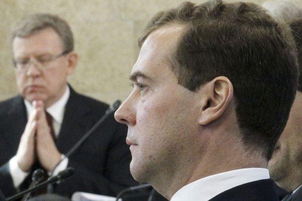 Алексей Кудрин Дмитрий Медведев|Фото: