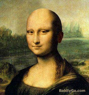 Mona Lisa calva