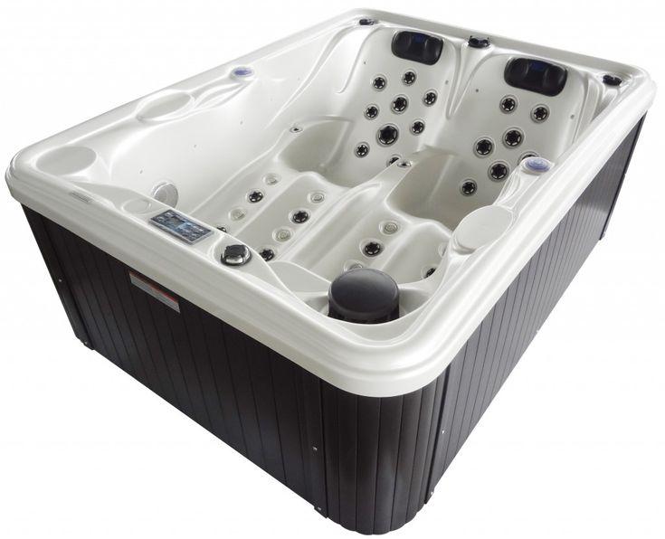 28 best indoor hot tubs images on pinterest indoor hot for Top bathtub brands