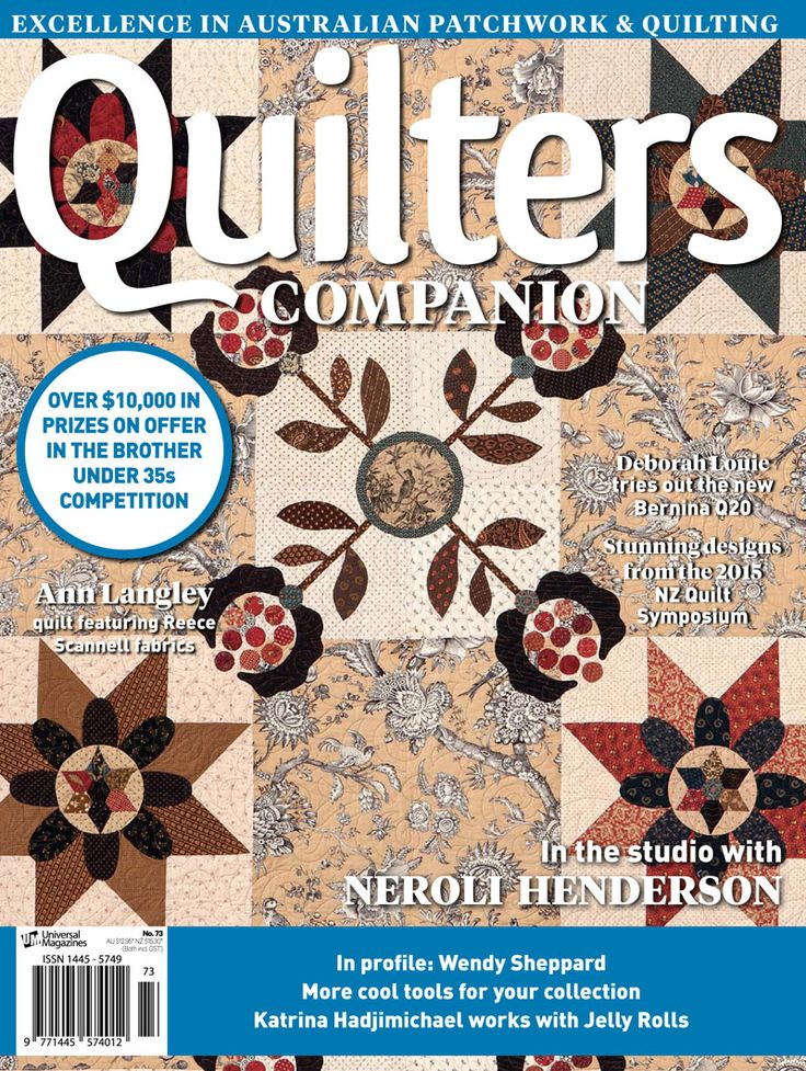 Quilters Companion #73 cover