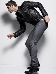 #Men's #fashion #leather #jacket: Varvatos, Quilici, Rick Owens, Belstaff, Peuterey, Burberry Prorsum, Vogue, Prada, Dolce and Gabbana, Poros,