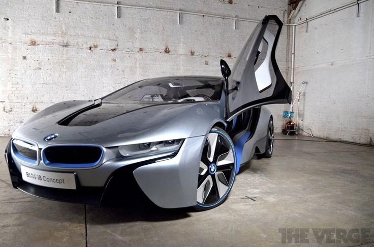 BMW i8 - Hybrid  My next service car. Gets me to return visits fast!