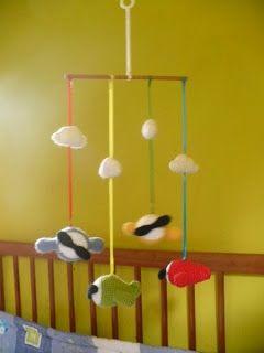 mobil aviones #crochet #baby