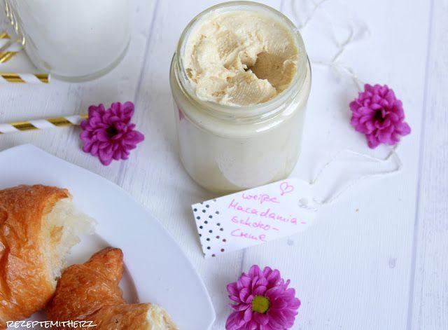 Weisse Schoko - Macadamia - Creme