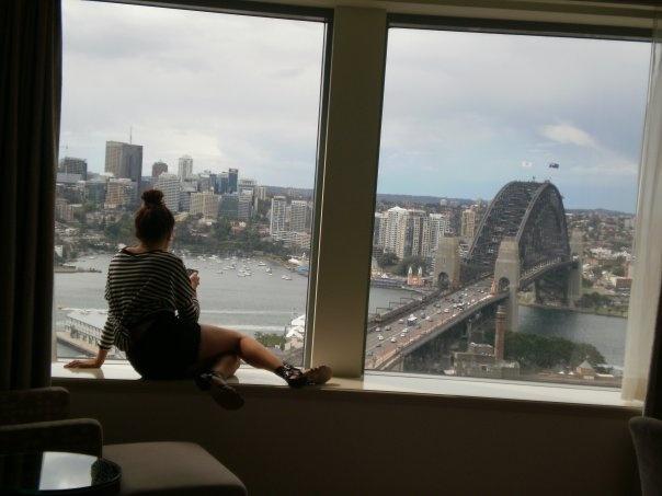 Shangri-La view, Sydney