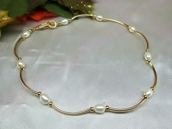set sister etsy from tiny fill beads layering bracelets anklet high heart juljewelry filled p silver for gold of on chain bracelet ankle thin gift quality her