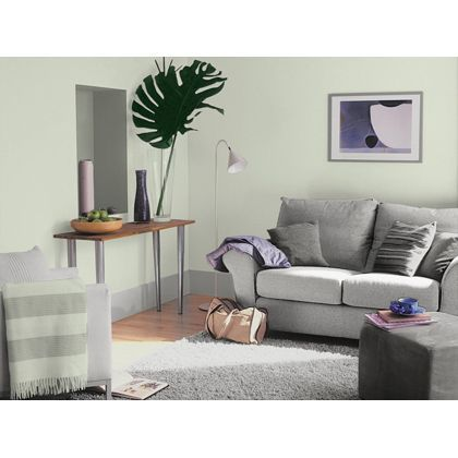 Jade White Dulux paint - available now at Homebase in store and online at homebase.co.uk.
