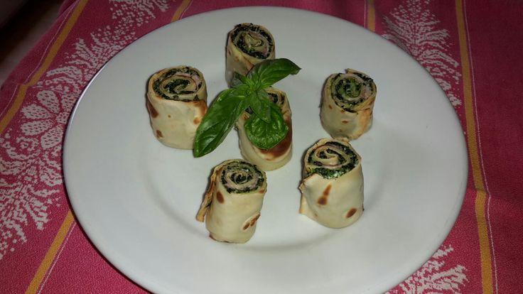 Bocconcini di crêpes ricotta e spinaci ripassati al forno