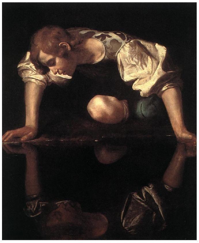 Essay The Mirror Reflection Michelangelo Caravaggio Painting Baroque