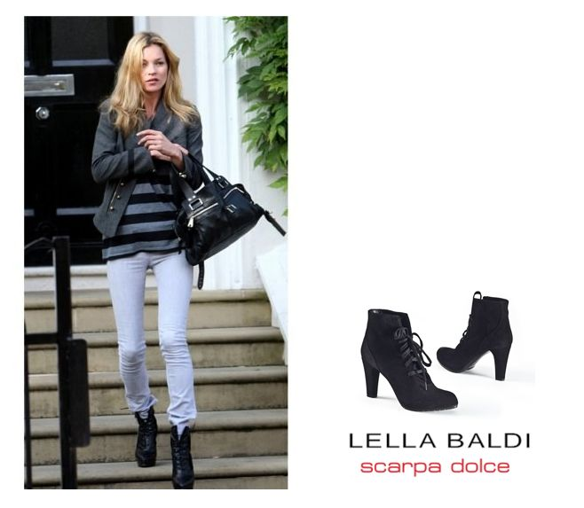 Kate Moss loves ankle boots - and so do I! :)