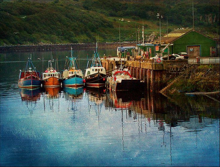 Boats at Portree