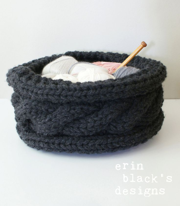 Knitting Basket Yarn : Best ideas about knit basket on pinterest knitting