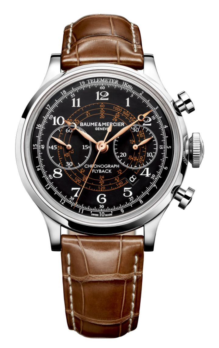 Capeland 10068 montre homme chronographe automatique- Baume et Mercier  Luxury Watches  |  Horlogerie