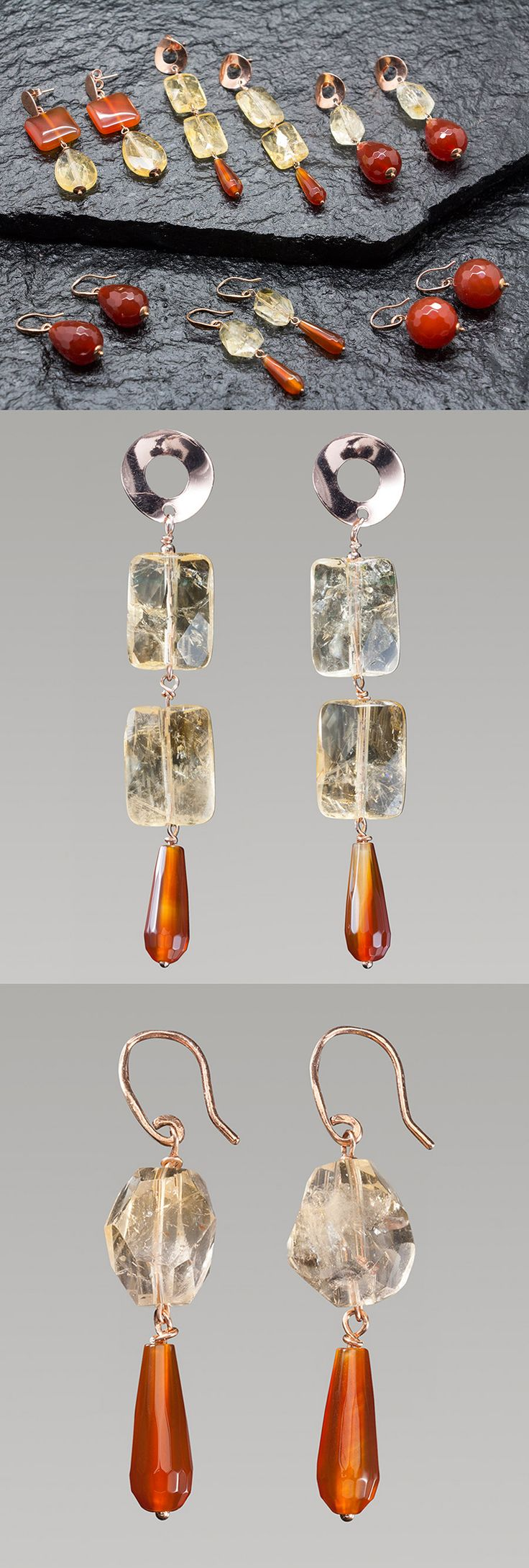 Handmade Earrings composition! All handmade in Italy with Silver 925, without Nichel!! Sipping free! Join on our website: http://www.antogioielli.it/