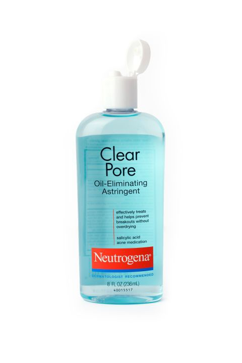 Neutrogena Clear Pore Oil Eliminating Astringent. Shop it and the 9 other American drugstore products French editors are sneaking past customs.