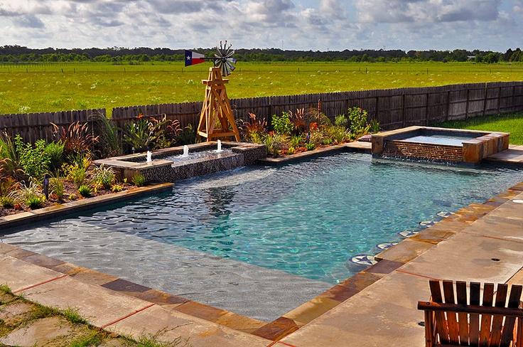 Redman Pools | Cool Pool Photos | Unique Pools | Houston Pool Builder