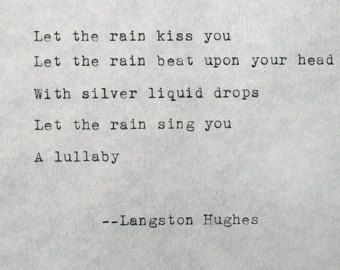 Essay about langston hughes poems