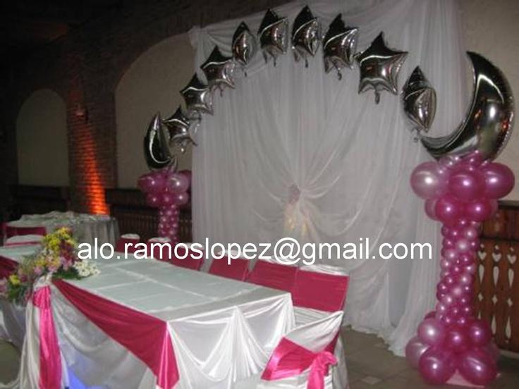 Mis quince anos decoraciones decoraciones xv a os y boda for Decoracion de quinceanera